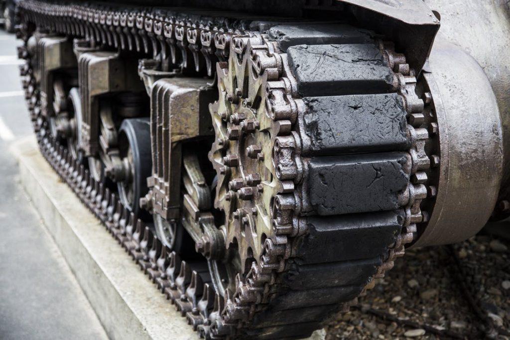 jízda tankem